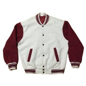 Vintage 90s Fruit Of The Loom Varsity Jacket Size